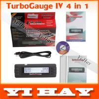 Newest TurboGauge IV Auto Trip Computer Scan Tool Digital Gauge 4 in 1, vehicle monitor