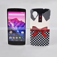 Cartoon Pattern PC Mobile Phone Protective Case For LG NEXUS 5