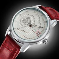Fashion Brand Hot Sale Watch Women's Watches Women Dress Watch JAPAN Move Relogios Femininos Reloj Free Shipping