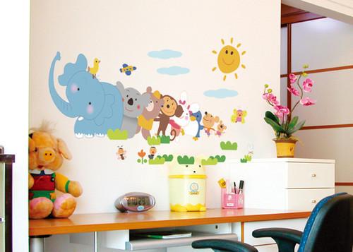 Baby Slaapkamer Nina : Online kopen Wholesale babykamer muur papier ...