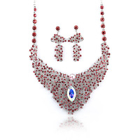 2013 New Fashion, pendant collar Jewelry statement silver wedding Necklaces earing set accessories for Women Free Shipping
