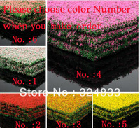 Floral Print grass sandbox building model material many colors