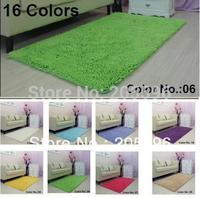 Parlor carpet 16 colors size 50X120CM Power Threads Microfiber Chenille Large size flooring mat desk mat soft mat