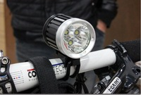 3600-Lumen 3T6 LED High Power Bicycle Light For 3*Cree XM-L T6 4-Mode LED bike light +SILICON LED BIKE LIGHT LED  Rear Light