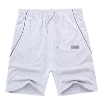 Men shorts  running shorts and male knee-length pants basketball pants knitted cotton summer sportswear
