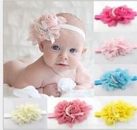 2014 New Style Beautiful Headband hairband Baby Girls flowers headbands,kids' hair accessories Baby Christmas gift