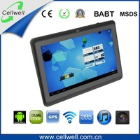 "One Camera Colorful 7"" Q88 android 4.0 allwinner a13 1GHZ 512M 4GB Red Pink Capacitive Screen tablet pc"