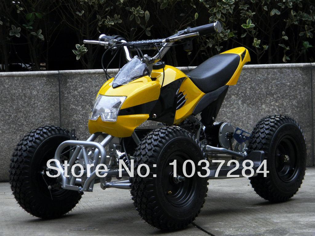 Small electric four wheel atv plus size - 6 tyre 500w motor electric four wheel mini atv(China (Mainland))