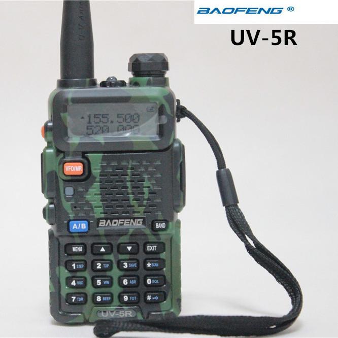 Фото BaoFeng 5R 5W 128Channels 136/174 & 400/520 Talke UV-5R Camouflage soundtronix s 174
