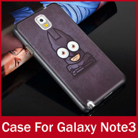 10pcs/lot Wholesales Cute Painting Covers For Samsung Galaxy Note 3 III N9000 Hard Durable Back Cases
