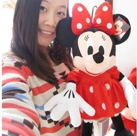 free shipping 12'' 30cm wholesale baby toys Minnie toy doll Mouse plush toy doll New Year