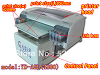 high speed textile flatbed printer for home textile printing