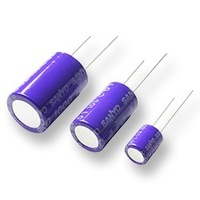 Original Sanyo Solid Capacitor 220UF 6.3V  6.3X11mm 105C 20% 6SPS220M