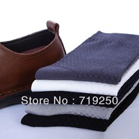 20pcs=10 Pairs/lot Free Shipping Wholesale Men's socks bamboo fiber Socks,Mens dress Socks,Size 39-44 random color