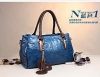free shipping  2013 Hotsale PU Leather Fashion women leather handbag bag women messenger bag fashion big brand cross-body bag