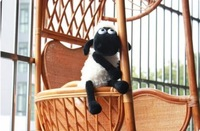 free shippng Shaun the sheep lamb toys shaun sheep plush toy for kids gift 32 cm