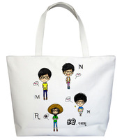 Star series running man glasses male , canvas bag handbag 1-3