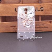 Handmade Rhinestone Crystal Hard Case Cover For Samsung Galaxy S4 mini i9190