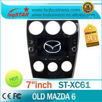 Factory price! For old Mazda 6 2006-2008 radio navi with GPS Navigation Radio bt ipod  RDS Analog TV SD card slot