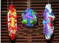 Fedex free shipping wholesale free shipping iq puzzle lamp iq jigsaw lights Medium size 600pcs per lot iq light