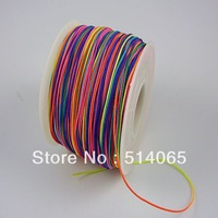 0.7MM Wholesale 150M/160yards/lot Chinese Knot String dacron Cord Rope for Shamballa Bracelet color