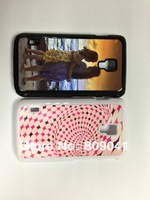 NEW!Sublimation Blanks Plastic Phone Case for LG L7II with plates and glue free shipping 50pcs/lot