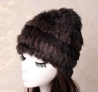 2013 autumn and winter high-quality rabbit fur hat warm winter hat cap ladies hat Korean version of Baotou