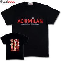 AC milan Salad cartoon comic short-sleeve football t-shirt footeer-s00032