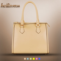 Women's handbag 2013 bags sweet candy macaron fashion brief women's handbag shoulder bag