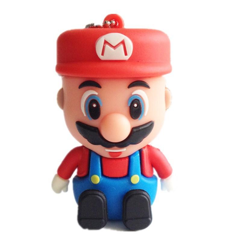 usb flash drive gifts Super Mario pen drive 4gb 8gb 16gb 32gb 64gb mario pen drive flash usb pendrive memory stick free shipping(China (Mainland))