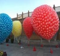 Flying balloon net 99-199pcs balloons+balloons network