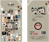 Korea  Sonia paper cosmetic design decorative stickers  DIY stickers free shipping