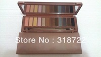 FREE SHIPPING 1pcs BRAND MAKEUP  NAKE  3 Eyeshadow Palette NAKE 12 color palettes ud eye shadow  ( 1 pcs/lot)