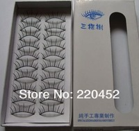 New 10 Pair Thick Long False Eyelashes Eyelash Eye Lashes Voluminous Makeup#188