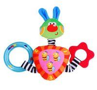 Lalababy cloth books rabbit trigonometric toys bb device teethers