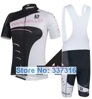 New ropa ciclismo! 2014 Black&Pink pinarello Cycling Jersey Short Sleeve and bib Shorts cycling clothing set/ pinarello jersey