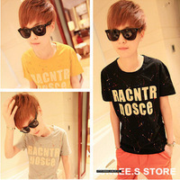 2013 men's clothing t-shirt short-sleeve T-shirt male t-shirt 3 male short-sleeve t-shirt