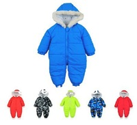 Infant childre's clothes baby romper baby down romper autumn and winter thick baby clothes
