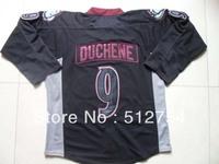 Free Shipping,Wholesale Ice Hockey Jersey, #9 Matt Duchene Ice Black Hockey jersey,Embroidery logos,size 48-56,mix order