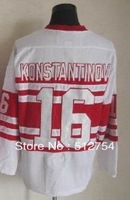 Free Shipping,Wholesale Ice Hockey Jersey,#16 Vladimir Konstantinov 75th Hockey jersey,Embroidery logos,size 48-56,mix order