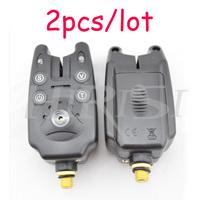 Free shipping standard fishing bite alarm carp fishing bite indicator suit for carp fishing rods 2pcs/lot