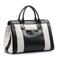 Superior Quality Fashionable Genuine Cow Leather  Woman's Dual-Used Handbag Free Shipping
