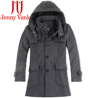 Fashion men wool coat jenny janigor vanka middot . card fashionable casual men's clothing outerwear woolen overcoat