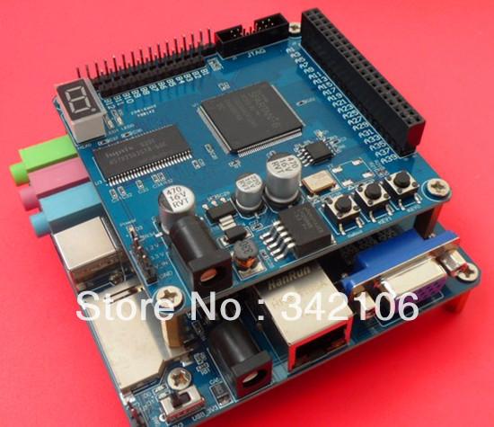 Free Shipping!!! FPGA development board XC6SLX9 + USB audio peripheral board SPARTAN-6(China (Mainland))