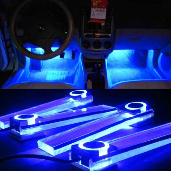 Online kopen Wholesale car foot lights uit China car foot lights Groothandel   Aliexpress com