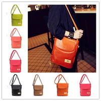 Candy color restoring ancient ways detonation small bag shoulder bag bucket aslant female bag