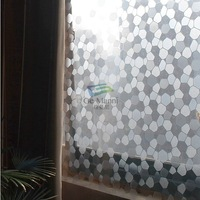 Width92cm*coil,Thicken Static Cling Glass Films Anti-UV Windows Sticker Translucent Window Films