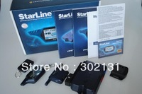 New batch car alarm starline A91 car alarm system free shipping by EMS/DHL