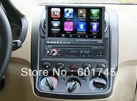 in-dash 1 din car dvd media player gps navigation system for universal car AL-8007