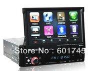 "In-dash 7"" screen GPS Navigation Car DVD Multimedia Player for 1 din universal car AL-8007"